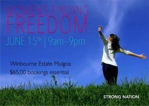 Women's Finding Freedom Weekend @ Winbourne Estate | Mulgoa | New South Wales | Australia